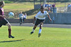 Walt Hester | Trail-Gazette<br /> Erick Dominguez shoots last week. Dominguez scored a hat trick on Tuesday against Community Christian.