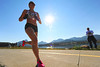 Walt Hester | Trail-Gazette<br /> Runner Ruth Waller starts her trip around Lake Estes on Saturday. Waller, of Manchester, UK, by way of Loveland, won the women's division in a time of 23:25.