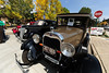 Walt Hester | Trail-Gazette<br /> Classic cars await riders at Autumn Gold on Saturday. Visitors had the chance to ride in the old cars at the festival.