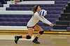 Walt Hester | Trail-Gazette<br /> Shelby Kufeld digs up a hit against Liberty Common on Saturday. The Ladycats dropped the match in four sets.