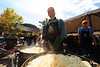 Walt Hester | Trail-Gazette<br /> Glenn Malpiede of Estes Park caramelizes onions at Autumn Gold in Bond Park on Saturday. Onions were destined for brats at the annual celebration of fall in Estes Park.