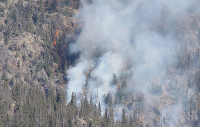 The Fern Lake Fire has been burning in Rocky Mountain National Park since Oct. 9. Until it pushed east this past weekend, it had been burning in rugged country that made it difficult for firefighters to attack.