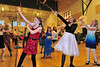 Girls at the Estes Park Elementary School's Father-Daughter dance on Friday. The fifth annual Father-Daughter dance was sponsored by the Parent-Teacher Organization.