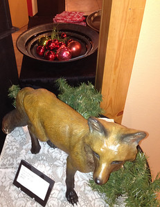 Be foxy -- come to the CAC's holiday art exhibit and surprise folks on your gift list.