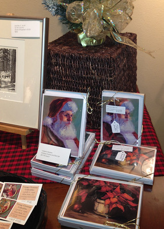 Santa wants your stocking, to fill artfully at the CAC's annual holiday art exhibition.