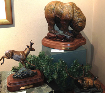 Animals for all seasons abound at the CAC's holiday art exhibit, on display through Jan. 6.