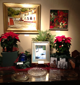 Food for the soul is offered at the Cultural Arts Council's holiday art exhibit.
