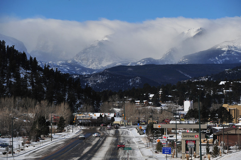 Snow visited the Estes Valley mid week, but was much lighter than hoped. The Western Slope received the brunt of the storm receiving more than two feet in places.
