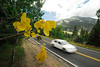 Photo by Walt Hester<br /> Golden aspen leaves quake along the road near Deer Ridge Junction on Tuesday. The signs of autumn are just starting to show around Estes Park and Rocky Mountain National Park.