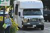 Photo by Walt Hester<br /> The free shopper shuttle cruises Elkhorn Avenue on Monday.