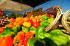 Photo by Walt Hester<br /> The hallmark of farmers' markets is colorful, fresh produce, and the Estes Valley market is no exception. Three different vendors bring fresh fruits and vegetables from the Eastern Plains.