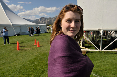 Photo by Walt Hester Milky complexions and red hair, such as that of Amy Magee of Denver, were well represented in Estes Park during the annual Longs Peak Scottish-Irish Highland Festival this weekend.