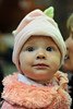 Walt Hester | Trail-Gazette<br /> Hannah Nicolson looks at holiday party festivities with wonder in her five-month-old eyes on Friday.