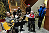 Walt Hester | Trail-Gazette<br /> The multi-talented EPMC staff sings Christmas songs at their holiday party on Friday.