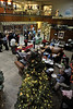 Walt Hester | Trail-Gazette<br /> The Estes Park Medical Center took advantage of it's large lobby on Friday and hosted their holiday party.