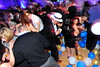 Walt Hester | Trail Gazette<br /> Revelers stomp balloons after midnight at the New Year's Eve celebration. The countdown and balloon drop made the celebration complete on Saturday night.