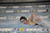 Walt Hester   Trail Gazette<br /> Kate Hewson seems to be swimming all by her self in the 100 yard freestyle against Eaton on Tuesday. Hewson finished better than three seconds ahead of second place, Lauryn Schriner of Eaton.