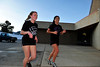 Walt Hester | Trail Gazette<br /> Shelby Kufeld and Miranda Ruiz head back inside after a running workout on Monday. It's never too early for selfstarters to prepare for the coming outdoor season.
