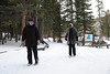 Walt Hester | Trail Gazette<br /> Heidi Chanlyn of Lyons and Sue Haman of Union Grove, Wis. cearfully make their way around Bear Lake on Wednesday.Visitation to Rocky Mountain National Park for 2011 slotted in at the third best year ever.