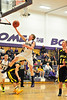 Walt Hester | Trail Gazette<br /> Gage Smith gets free for two of his 11 points against Valley on Tuesday. Smith was one of three 'Cats to score double figures, but it wasn't enough a the Vikings picked up their 11th win of the season against Estes Park.