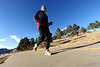 Walt Hester | Trail Gazette<br /> A runner enjoys the sunny afternoon around Lake Estes on Monday. Athletes are drawn to Colorado not just for the benefits of altitude, but also for the 300-plus days of sunshine a year.