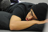 Walt Hester | Trail Gazette<br /> Wrestler Baily Flores naps between bouts at the Thin Air Tournament in Estes Park on Saturday. The Tournament lasted nearly 10 hours.
