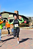 Walt Hester | Trail Gazette<br /> Sarah Hansen of Fort Collins wins the women's division of the Frost Giant 5k race on Sunday. Hansen managed second in the 10k.
