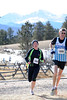 Walt Hester | Trail Gazette<br /> Sarah Hansen of Fort Collins starts up the road at MacGregor Ranch on Sunday. Hansen won the women's 5k run of the Frost Giant, and took second among women in the 10k.