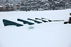 At least driving on the roads was only difficult around Estes Park following the Feb. 3 storm that dropped close to 10 inches of snow on the area by mid-morning. The driving range at the 18-hole golf course was another story - even if someone had wanted to use them.