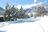 Lily Mountain is mantled under snow Sunday morning from the Feb. 3. front that dropped 14 inches of snow on this part of the Estes Valley.