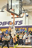 Walt Hester | Trail Gazette<br /> Senior guard Taylor Marshall scores on a layup against Platte Valley on Friday night. Marshall led the Bobcats in scoring against the Brush Beetdiggers on Saturday with 18 points.