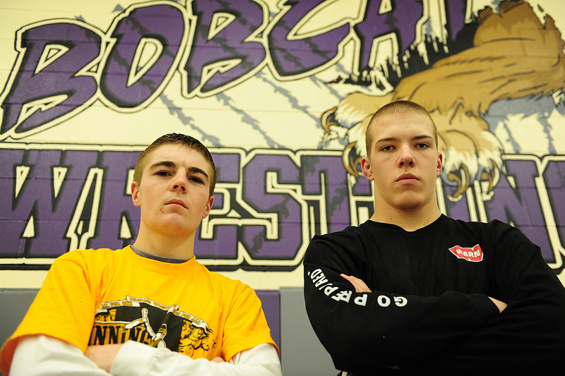 Walt Hester | Trail Gazette<br /> Senior 113-pounder Will Casey and junior 170-pounder Nate Dewitt are ready to represent Estes Park at the Colorado State Wrestling Tournament. The tournament began on Thursday and runs through Saturday.