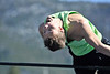 "Walt Hester | Trail Gazette<br /> Avi Weissman arches over the bar set at 5'11"" during practice on Thursday. Weisman and several Bobcats are hoping to qualify for the state track and field meet at Jeffco Stadium on May 19-20."