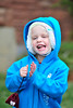 Walt Hester | Trail Gazette<br /> Aydn Ratke, 3, of Fort Hood, Texas, dances to the music on Sunday. As usual, the Jazz Fest promoted a family atmosphere for those who braved the cold.