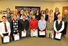 Walt Hester | Trail Gazette<br /> Estes Valley Sunrise Rotary - Courtney Frazier, Kyra Stark, Audra Sherman, Caroline Miller, Summer Barney, Lesha Moody, Lauren Molle, Torrey Slininger, Daniel Rojas, John Oja, Brendin Perez, Zach Eitzen, Dustin Hayes, Jacob Westley and Justin Wahler. Presenters - Marcy Predmore, Harriette Woodard and Kristi Farguna
