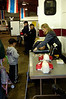 A young attendee paid rapt attention to a CPR booth at the Sept. 24 Estes Park Police Department Safety Fair.
