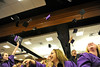 Walt Hester | Trail Gazette<br /> The Class of 2011 celebrates graduation at the YMCA of the Rockies on Friday. Graduates, friends and family packed the conference hall to enjoy the ceremony.