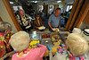 Walt Hester | Trail Gazette<br /> Patrons enjoy the first of four summer breakfast buffets at the Estes Park Senior Center on Saturday. The monthly buffets are a fund raiser for the senior center.