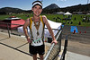 Walt Hester | Trail Gazette<br /> Michael Trahan of Littleton posted the bet men's marathon time on Sunday: 3:09:53. The beautiful, warm, sunny day gave runners ample opportunity to fly.