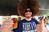 Walt Hester | Trail Gazette<br /> Jared Tetzlaff shows his approval at the Estes Park Brew Fest on Saturday. The festival draws lots of brewers and visitors from the Front Range.