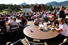 Walt Hester | Trail Gazette<br /> Locals and visitors enjoy breakfast at the annual Crossroads Pancake Breakfast at the Our Lady of the Mountains Catholic Church on Monday. The event raises money for Crossroads, allowing the ministry to feed those less fortunate.
