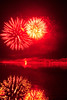 Walt Hester | Trail Gazette<br /> A burst illuminates the night sky and reflects off of Lake Estes on Monday. The Independence Day show has drawn families to the edge of the lake for decades.