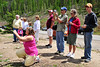 Walt Hester | Trail Gazette<br /> Park visitors gather to photograph wildlife in the Kawuneeche Valley on Sunday.