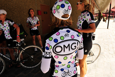 Walt Hester | Trail Gazette Team OMG wears kits seamingly inspired by the US pro cycling team, Jelly Belly, sponsored by the famous jelly bean maker.