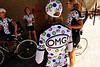 Walt Hester | Trail Gazette<br /> Team OMG wears kits seamingly inspired by the US pro cycling team, Jelly Belly, sponsored by the famous jelly bean maker.