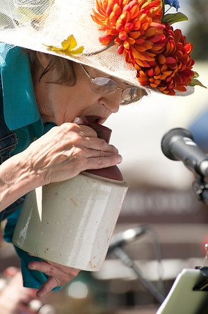 Walt Hester | Trail Gazette<br /> The jug band plays the instrument for which they are namedon Saturday.