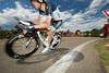 Walt Hester   Trail Gazette<br /> Frank Schleck, second runner-up of this year's tour and older brother to Andy, displays the physique typical of world-class cyclists. Most top-level cyclists carry their body mass in their lower bodies.