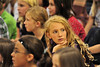 Walt Hester | Trail Gazette<br /> Ten-year-old Katherine Pallissard is briefly distracted during an assembly at the Estes Park Elementary School on Wednesday. The school begins it's annual ABC Fundraiser this week, selling gifts and treats to raise money for school field trips and technology.