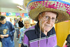 Walt Hester | Trail Gazette<br /> Don Tebow, founder of the Senior Center's Saturday Breakfast Buffet, shows off his sombrero at the center on Saturday. This time around, the Senior Center reported more than 380 customers at the buffet, the best turnout in the 14-year history of the events.