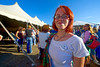 Walt Hester | Trail Gazette<br /> A pretty vistor wears her heart on hear shirt at the Highland Scottish Irish Festival on Saturday. Fans of kilts had all they loved at the Stanley Fairgrounds this weekend.
